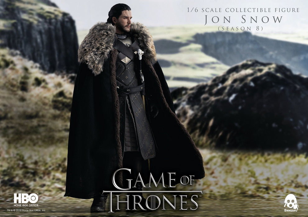 In-stock ThreeZero 3Z0101 1/6 Scale Jon Snow GAME OF THRONES 12in Action Figure