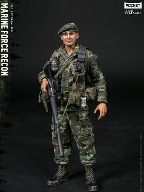 Pre-order 1/12 Scale DAMTOYS PES009 Marine Force Recon in Vietnam 6in Figure