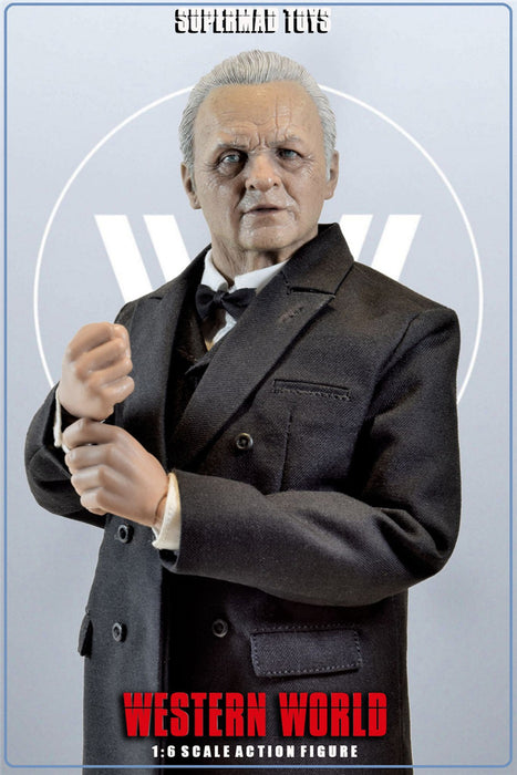 Pre-order 1/6 SUPERMADS TOYS The CEO of Western World Action Figure