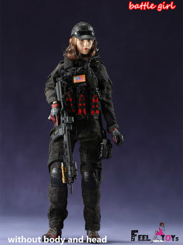 Pre-order 1/6 Scale Feeltoys FT007 Battle Girl 1.0 Clothes Set