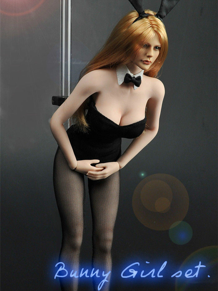 1 6 Scale Bunny Girl Clothes Set Sexy Girl Cosplay For Hot Toys Body