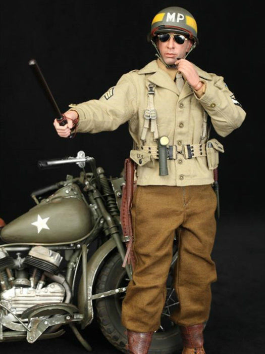 1/6 Scale DID A80116 WWII US 2nd Armored Division MP Military Police Bryan