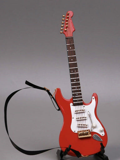 """1:6 Scale Coffee Color guitar Model with box For 12/""""  Figure Model Cosplay Use"""