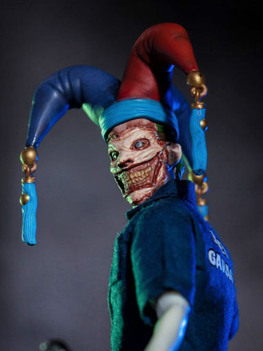 Pre-order 1/12 Scale Leather Faced Clown Clothe Set For Mezco 6in Action Figure Limit 20