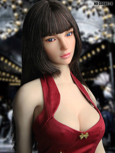In-Stock 1/6 Scale SUPER DUCK  SDDX01 Movable Eye Female Head Sculpt A~C