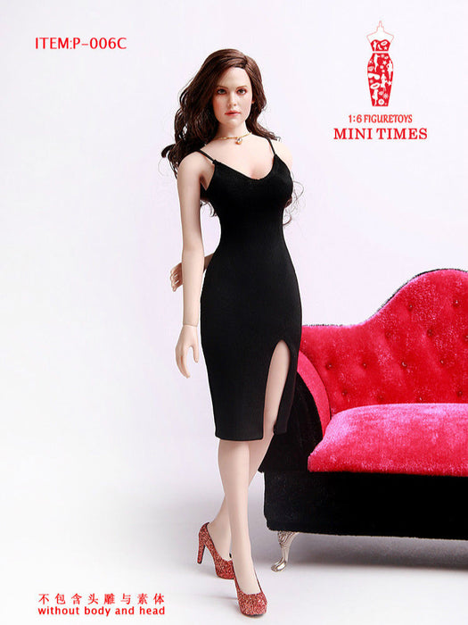 In-Stock 1/6 Scale P-006 Sexy Female Dress Suit