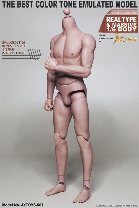 1/6 JXtoys S01 / S02 Male Body