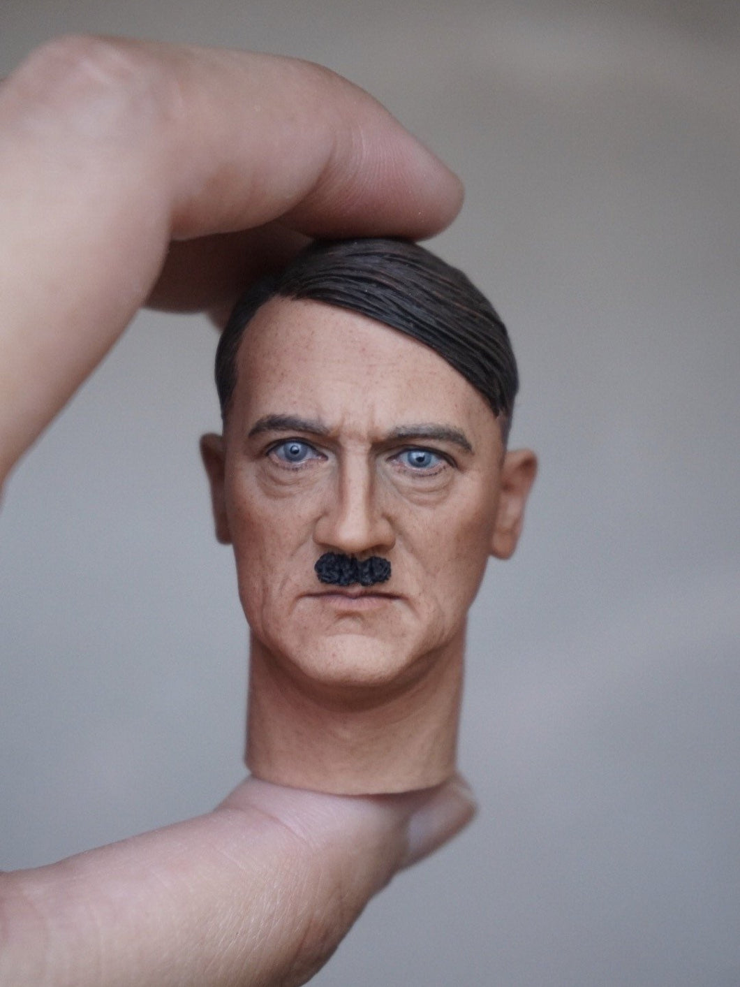 1/6 head sculpt for WW2 general for 12'' action figure