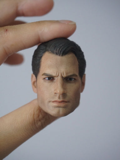 1/6 Head Sculpt for regular Superman Henry Cavill