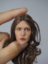 1/6 Head Sculpt for Scarlet Witch Elizabeth Olsen with red pupils Wanda Maximoff