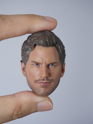 1/6 Head Sculpt for Star-Lord (Guardians of the Galaxy) Chris Pratt