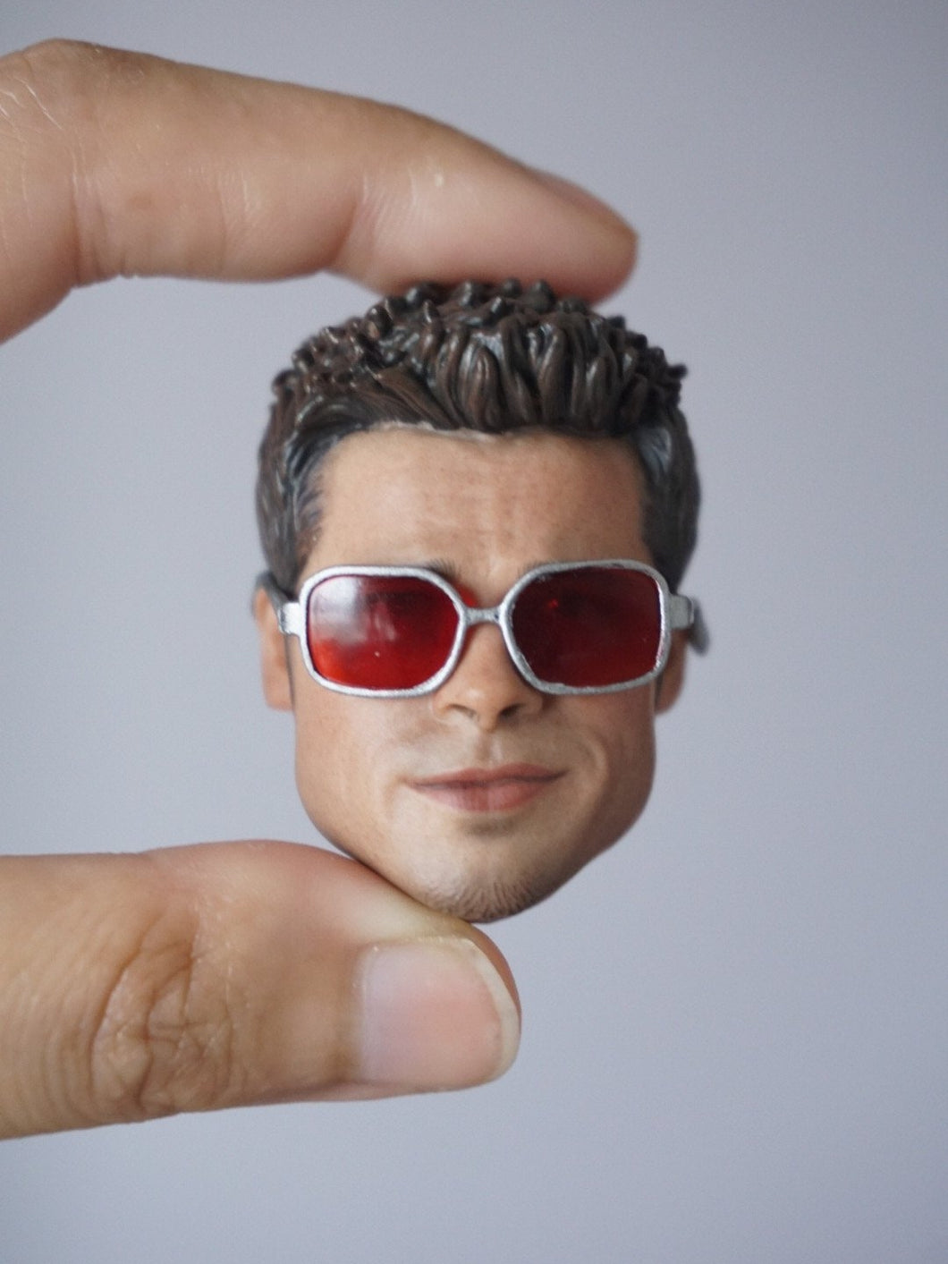 1/6 Scale Head Sculpt for Brad Pitt Tyler (Fight Club) for one-sixth action figure