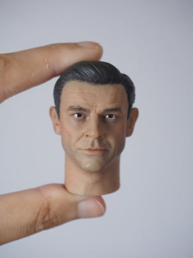 "1/6 Head Sculpt for ""James Bond"" 007 Sean Connery action figure"