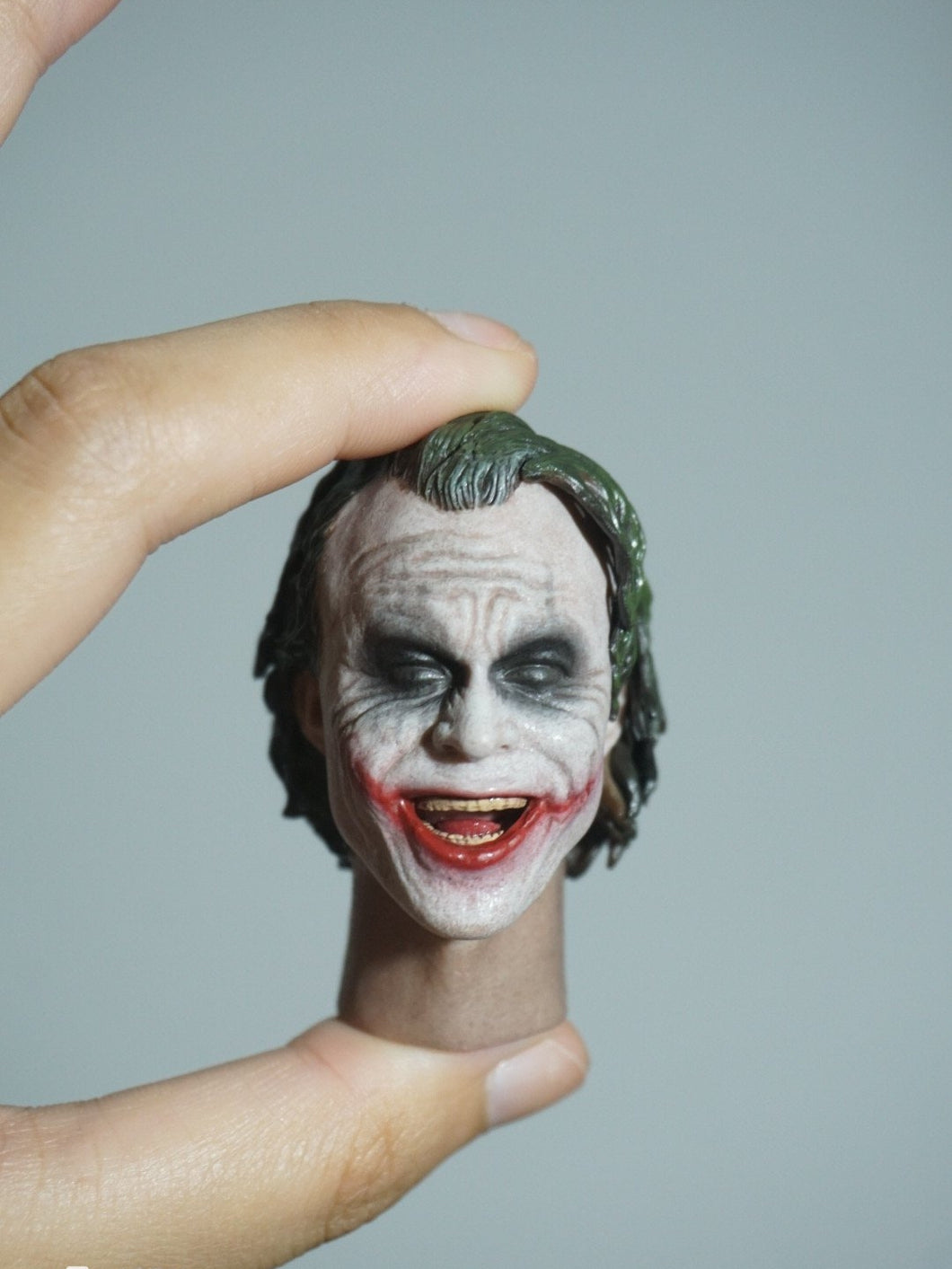 1/6 Head Sculpt For Joker Heath Ledger HT Laughing Version