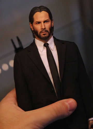 In-Stock 1/6 Scale Custom kit for John Wick Keanu Reeves whole set 12'' action figure