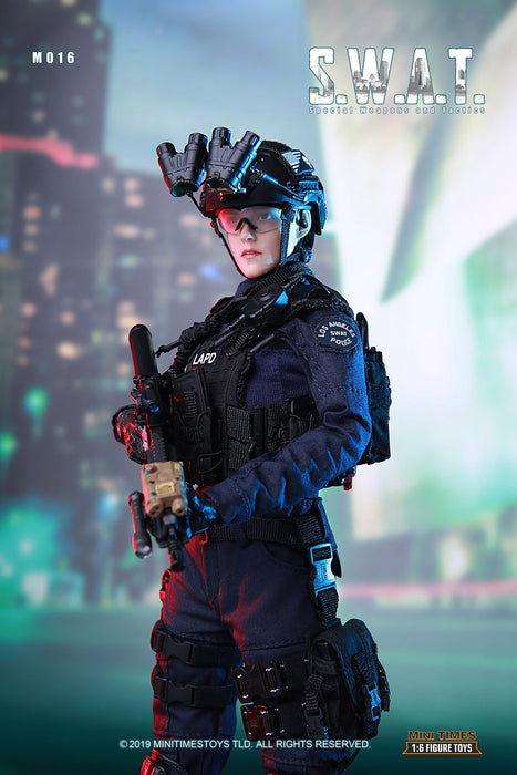 mini times toys M016 1/6 Scale Female S.W.A.T. Military Pre-Order