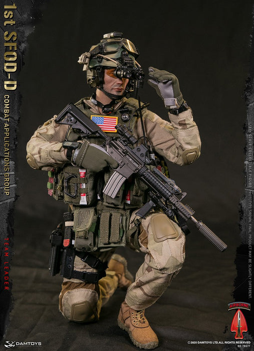 Pre-order 1/6 DAMTOYS 1st SFOD-D Combat Applications Group TEAM LEADER #78077