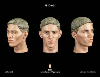Pre-order 1/6 Facepool Male Head Sculpt W/ Expression Series 7 FPD001  FPD002