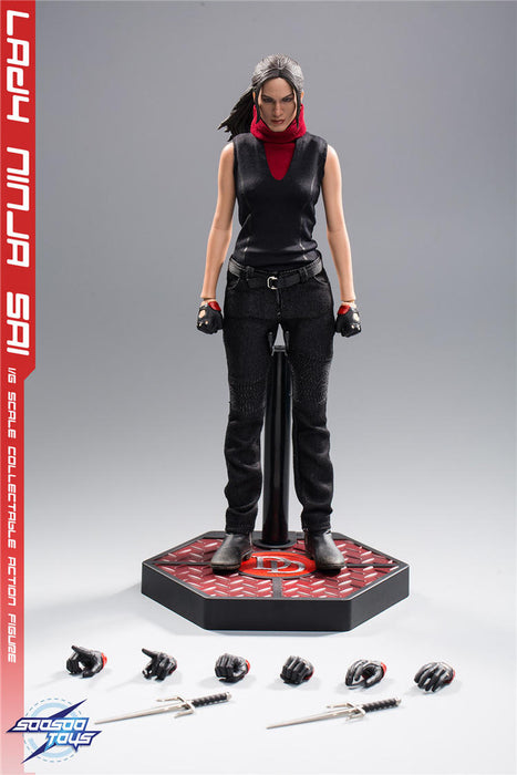 In-stock SoosooToys 1/6 Scale SST014 Lady Ninga Sai 12in Action Figure