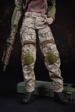 1/6 Female Soldier Combat Clothing Set Camouflage For Phicen Hot Toys Figure
