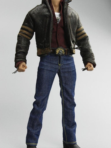 "In-Stock 1/6 Scale Costume Clothes Set for 12in action figure ""Mr. Wolf""  (X-men Origins: Mr. Wolf) WITHOUT BOOTS"