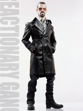 1/6 scale POPTOYS F16 The Mafia Style Leather Dress Suit Black Clothes Set