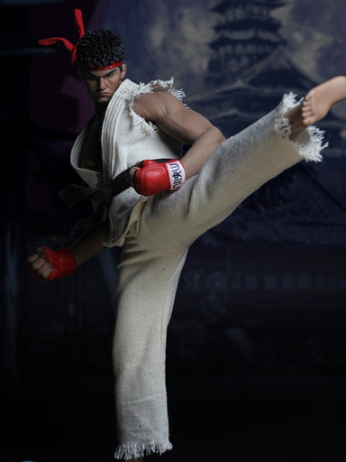 In-Stock 1/6 Scale Super Duck SET022 Cosplay Custom Kit Street Fighter Head + Clothes