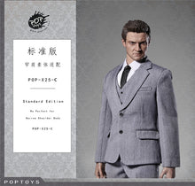 1/6 scale Men's suit Poptoys X-25 for 12'' action figure (2 colors)