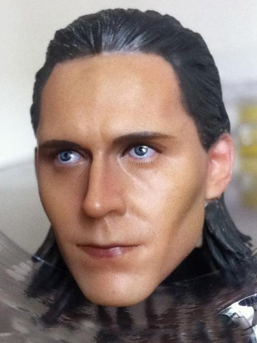 1/6 Head Sculpt for Loki Avengers Tim Tom Hiddleston for 12'' action figure