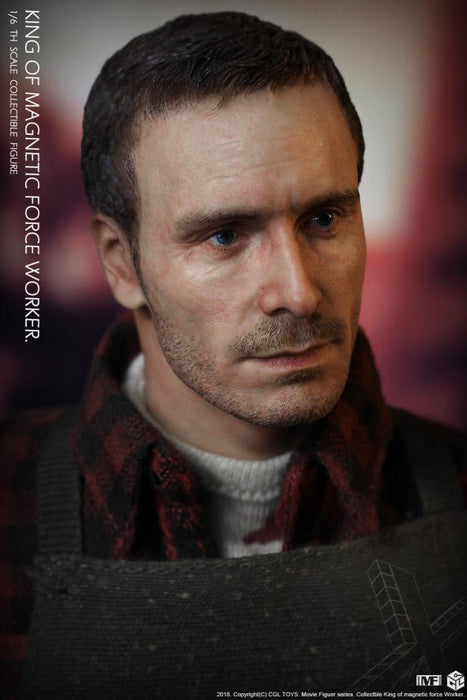 In-stokc 1/6 CGL Toys MF12 King Of Magnetic Force Worker Fassbender Action Figure