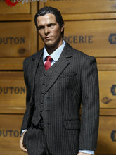 1/6 POPTOYS X22-A Men's Black Western Stripe Suit For The Dark Knight Bruce Wayne