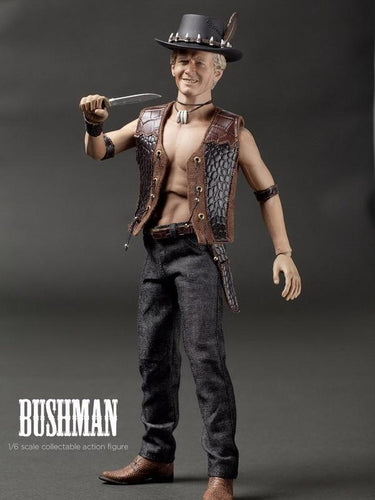 1/6 CRAFTONE action figure Bushman Crocodile Dundee Paul Hogan