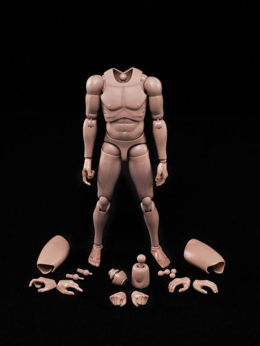 1/6 Male Action Figure Body MX02 2.0A Matt Improved Ver. for Caucasian