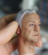1/6 head sculpt for Alfred Pennyworth The Dark Knight butle Gotham Michael Caine