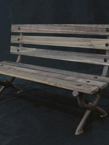 "1/6 Scale Story Scene WWII / Modern Park wooden Bench Chair 12"" figure action"
