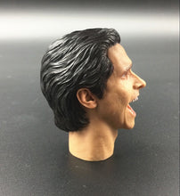 1/6 Patrick Bateman Christian Bale American Psycho Killers open-mouth Laughing head sculpt for 12'' figure