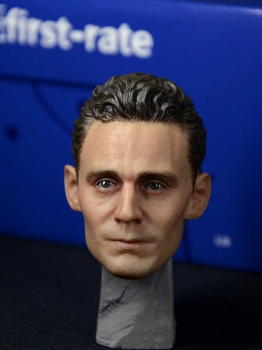 First-rate The Avengers Loki Laufeyson Tom Hiddleston 1/6 Scale Head Sculpt