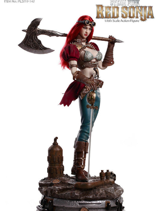 In-stock TBLeague Phicen 1/6 Steam Punk Red Sonja PL2019-140-A / B 12in Action Figure Female Soldier