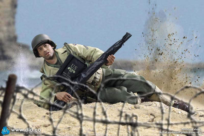 In-stock 1/6 DID A80140 WWII US 2nd Ranger Battalion Series 1 Private Caparzo