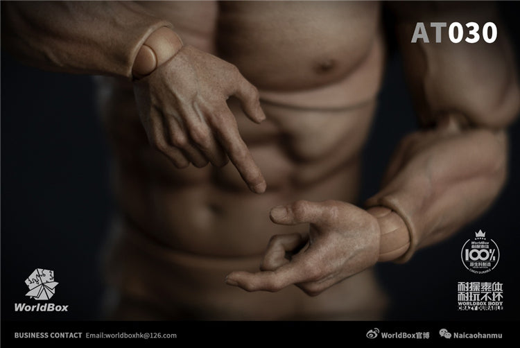 Pre-order 1/6 Worldbox AT030 Strong Male Muscular Body