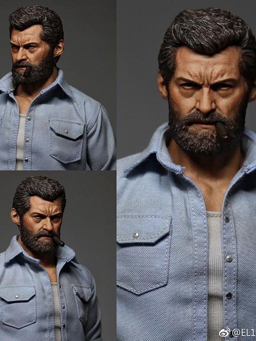 Eleven 1/6 Scale Cigar Oldman action figure