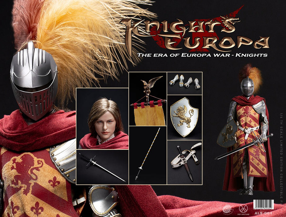 Pre-order 1/6 POPTOYS The Era of Europa War Griffin Knight ALS004~007