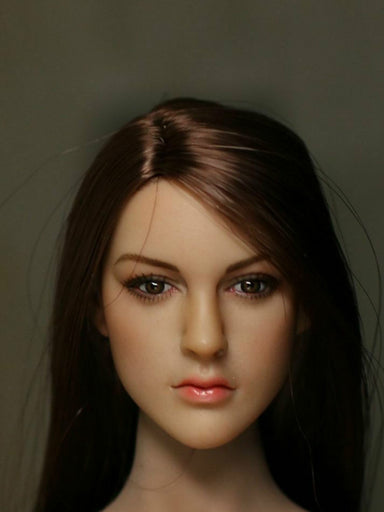 In Stock 1/6  Kimi Toys KT005 Female Head Sculpt For Phicen S07C Body H#Suntan