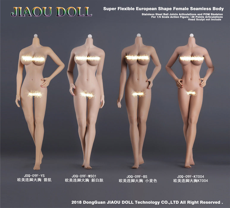 JIAOU DOLL 1/6 Female Body 09F Collection