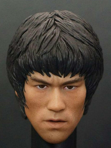 1/6 Scale Custom head Kit For Bruce Lee Game of Death In-Stock