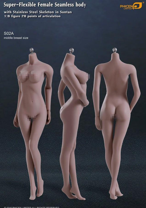 In-Stock TBleague / Phicen Female Body Collection S01A- S29B