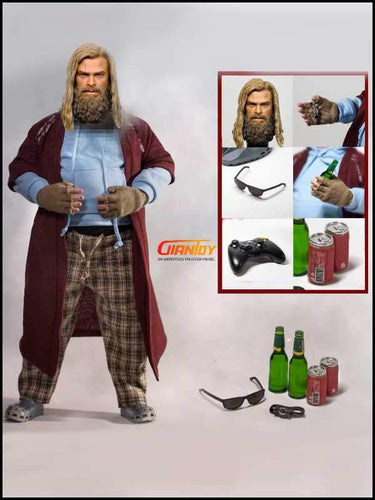 Pre-order Woo Toys WO-004 WOO004 Fat Viking Thor 1/6 Scale Custom Kit