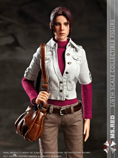 In-Stock FD004 1/6 Scale Hot Heart FD004 Living Dead Zombie Killer MS RED