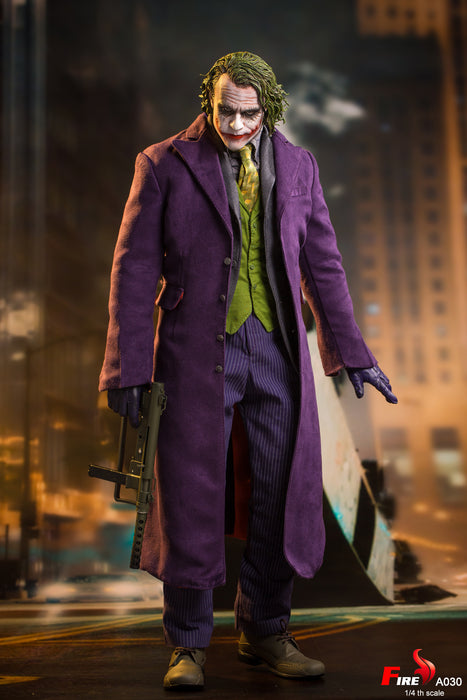 In-stock 1/4 FIRE A030 Purple Coat Clown Action Figure