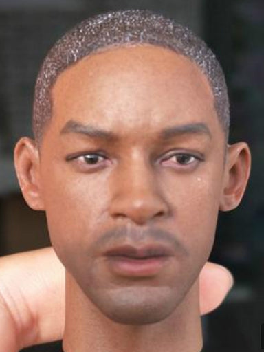 In-Stock 1/6 Scale Will Smith Head Sculpt A35